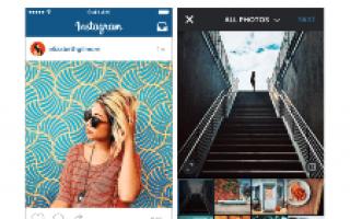 Как создать пост в Инстаграме с телефона?