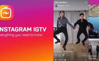 Как добавить видео в Инстаграм igtv?